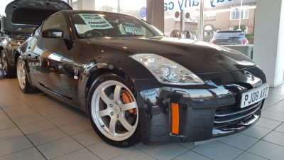 Nissan 350Z 3.5 V6 313 GT 3dr Coupe Petrol Black at Clarion Cars Worthing