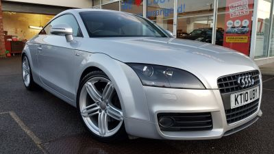 Audi TT 2.0T FSI S Line Special Ed 2dr S Tronic Coupe Petrol Silver at Clarion Cars Worthing