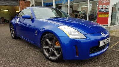 Nissan 350Z 3.5 V6 3dr Sports Petrol Blue at Clarion Cars Worthing