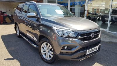 SsangYong Musso 2.2 Double Cab Pick Up Saracen 4dr Auto AWD Pick Up Diesel GreySsangYong Musso 2.2 Double Cab Pick Up Saracen 4dr Auto AWD Pick Up Diesel Grey at Clarion Cars Worthing