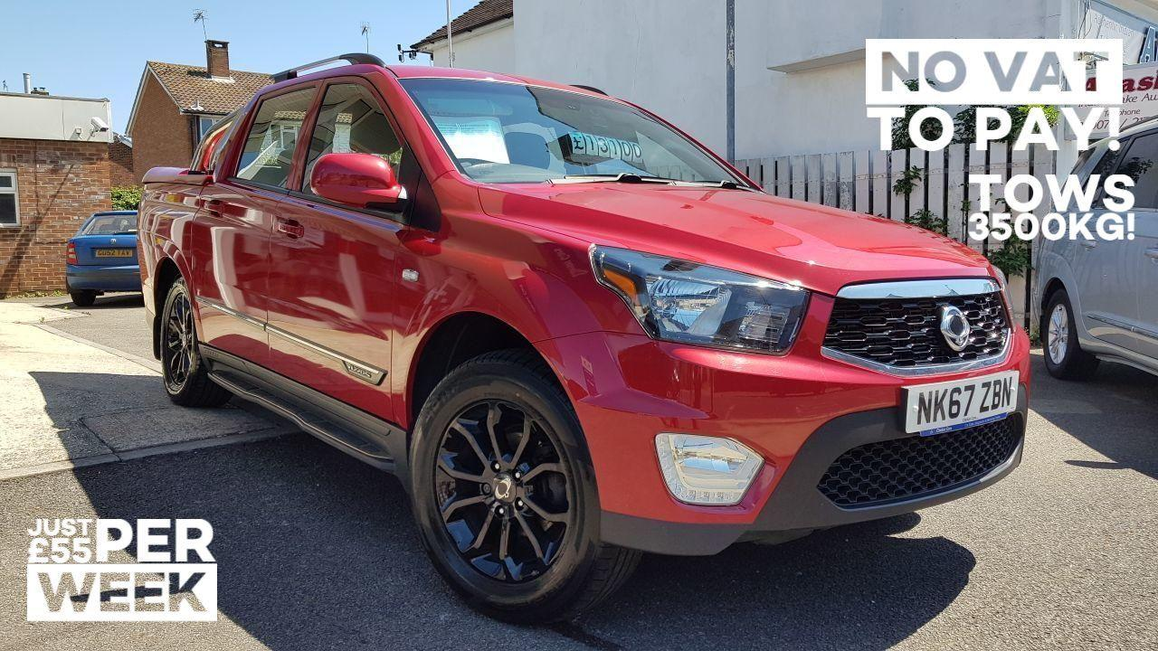 2018 SsangYong Musso 2.2 Pick up EX 4dr 4WD