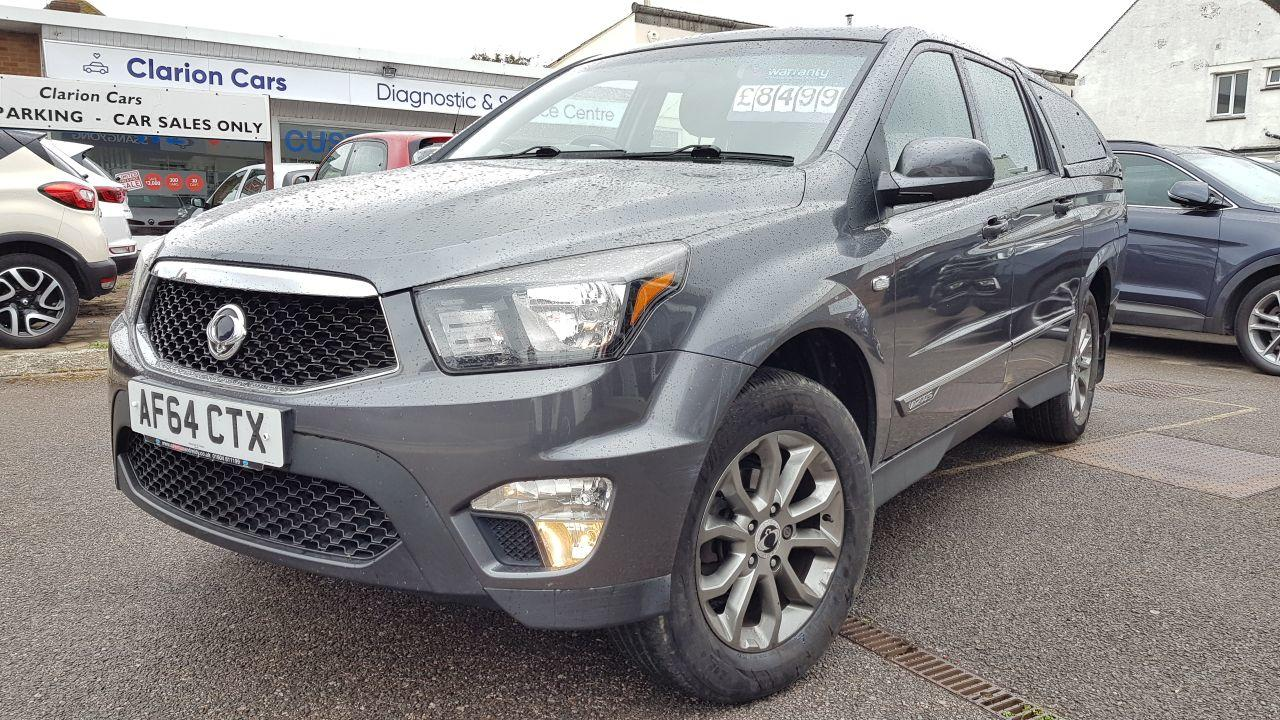 2015 SsangYong Korando Sports 2.0 Pick Up EX 5dr Auto 4WD
