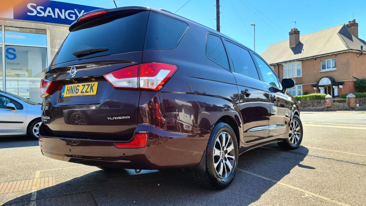 2016 SsangYong Turismo 2.2 ELX 5dr Tip Auto 4WD