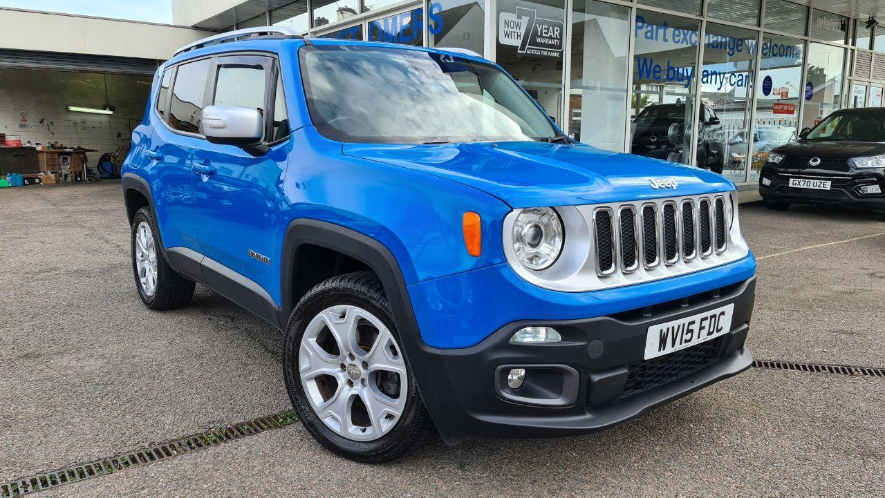 2015 Jeep Renegade 2.0 Multijet Limited 5dr 4WD