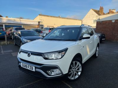 SsangYong Tivoli 1.6 D EX 5dr Auto Estate Diesel White at Clarion Cars Worthing