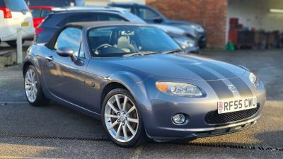Mazda MX-5 2.0i Sport 2dr Convertible Petrol Grey at Clarion Cars Worthing