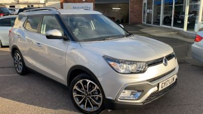 SsangYong Tivoli XLV 1.6 ELX 5dr Estate Petrol SilverSsangYong Tivoli XLV 1.6 ELX 5dr Estate Petrol Silver at Clarion Cars Worthing