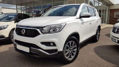 SsangYong Rexton 2.2 REXTON ICE AUTO Estate Diesel White at Clarion Cars Worthing