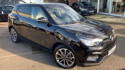 SsangYong Tivoli 1.6 Ultimate 5dr Auto Hatchback Petrol Black at Clarion Cars Worthing