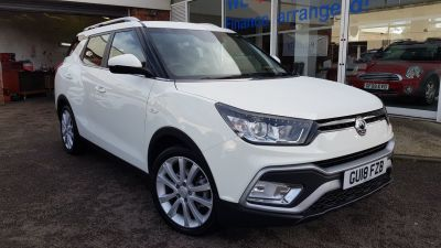 SsangYong Tivoli XLV 1.6 D EX 5dr Auto Estate Diesel White at Clarion Cars Worthing