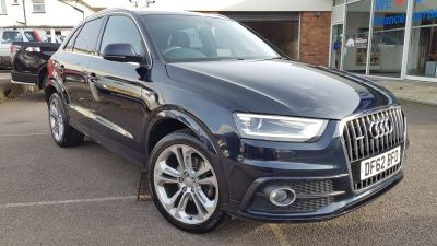 Audi Q3 2.0 TDI Quattro S Line 5dr Estate Diesel Blue at Clarion Cars Worthing