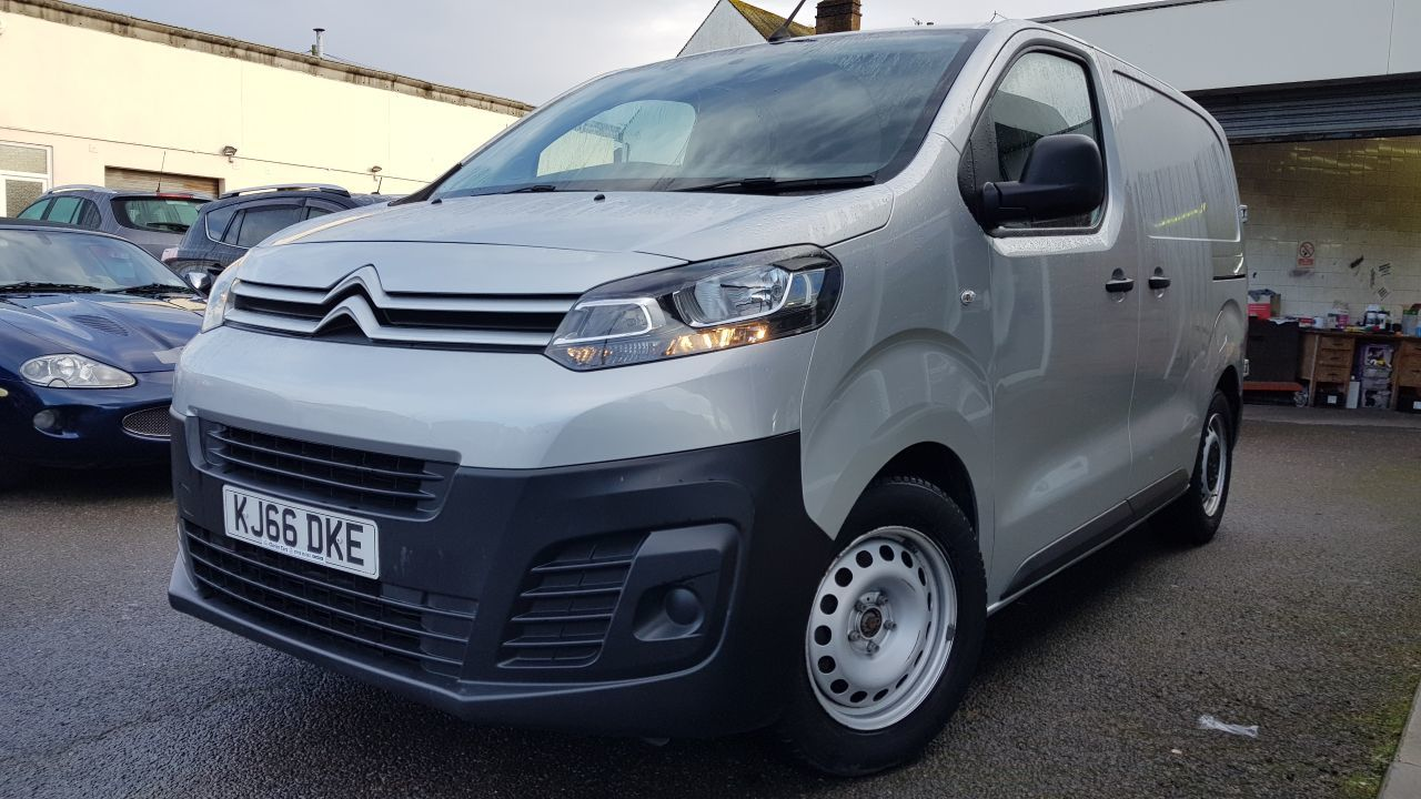 2017 Citroen Dispatch 1000 1.6 BlueHDi 95 Van Enterprise