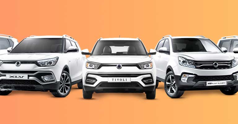 <strong>Ssurprisingly Big Deals<br/>From SsangYong</strong>